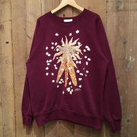 80's~ MORNING SUN Popcorn Sweatshirt