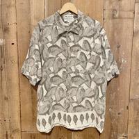 90's Columbia Cotton Fish Pattern  Shirt