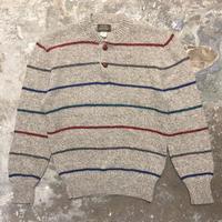 80's HIGH SIERRA Henry Neck Sweater