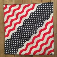 80's~ USA National Flag Bandana  #116