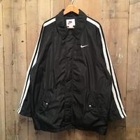 90's NIKE Nylon Jacket BLACK