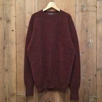 ~70's Pendleton Shetland Wool Sweater BURGUNDY