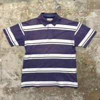 ~90's  L.L.Bean Striped Polo Shirt