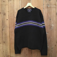 90's POLO SPORT V-Neck Wool Sweater