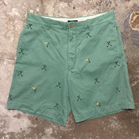 J.CREW Cotton Shorts GREEN  W: 34