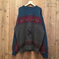 70's Pendleton Fair Isle Wool Sweater