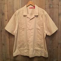 HAVANERA  guayabera Shirt TAN