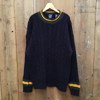 90's GAP Ramie × Cotton Knit Sweater