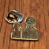 Two men Pins