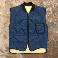 70's~ Unknown Padded Nylon Vest