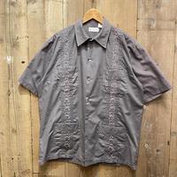 90's~  PLATOON Guayabera Shirt