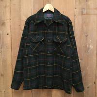 70's PENDLETON Board Shirt   GREEN×BLACK