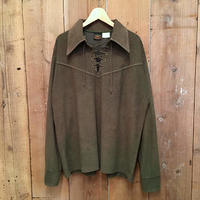 ~80's CAMPUS Pullover Western Shirt