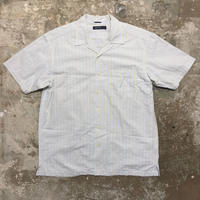 NAUTICA Seersucker Open Collar Shirt