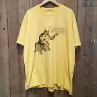 70's crazy shirts Fishing Kliban Cat Tee