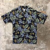 CHEROKEE Cotton Rayon Open Collar Shirt