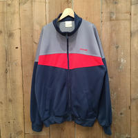80's~ adidas Track Top NAVY×RED