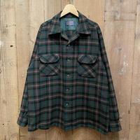50's~ PENDLETON Wool Board Shirt