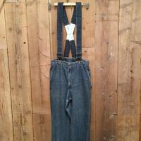 70's OSH KOSH Painter Pants with Suspenders  W 28