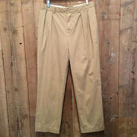 Polo Ralph Lauren Two Tuck Cotton Pants KHAKI  W : 33