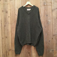 60's Parkley Shetland Wool Sweater