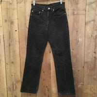 90's Levi's 517 Black Cotton Pants  W  31