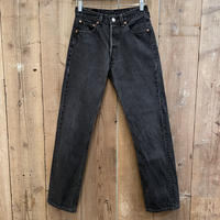 90's Levi's 501 Black Denim Pants  W 29