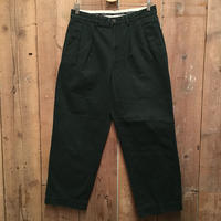 90's Polo Ralph Lauren Two Tuck Chino Pants D.GREEN  W : 31