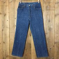 80's Levi's 501 Striped Denim Pants W 28  (Women's)