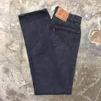 90's Levi's 501 Denim Pants BLACK W30