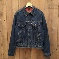 80's Levi's Flannel Lined Denim Jacket