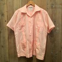 Mayab guayabera Shirt PINK