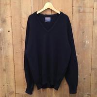 70's~ PENDLETON Lams Wool V-Neck Sweater
