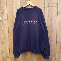 90's TULTEX Embroidered Sweat Shirt