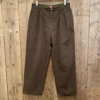 90's Tommy Hilfiger Two Tuck Cotton Pants