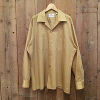 60's~ ARROW Poly/Cotton Open Collar Shirt
