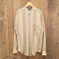 90's~ Nautica Band Collar Shirt