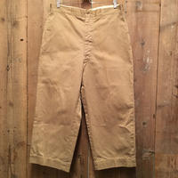 60's U.S.ARMY Cotton Trousers