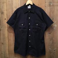 70's Clifton S/S Work Shirt NAVY