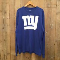 Reebok NFL New York Giants Printed L/S Tee