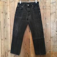 90's Levi's 501 Black Cotton Pants  W34  # 1