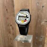 80's~  SEIKO ALBA MICKEY MOUSE Digital Watch
