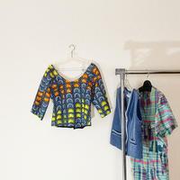 round pattern handmade tops / 丸柄ハンドメイトトップス
