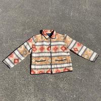 Ethnic pattern jacket/エスニック柄ジャケット