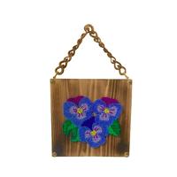 the fantasy wood bag -pansy-