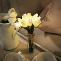 花瓶付 チューリップブーケ LEDライト|VIA K SUTDIO