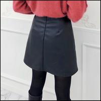 《予約商品/12月中旬〜》レザーミニスカート