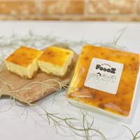 自家製トリュフ塩のチーズケーキ