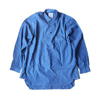 "LONG SLEEVE PULLOVER SHIRT ""STOCKHOLM""  セルヴィッチシャンブレー"