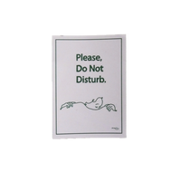 Do Not Disturb STICKER(Pink)